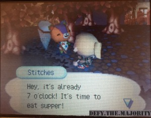 me and Stitches