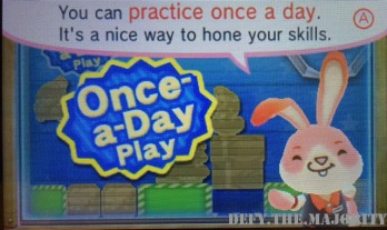 Practice once a day is better than nothing, I guess.