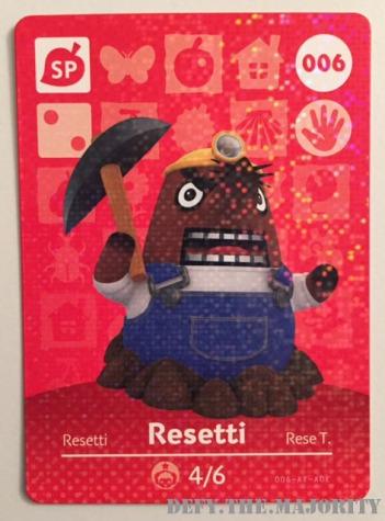 resetticard