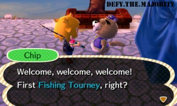 Wow, can't believe I've never done a fishing tourney in this game before!