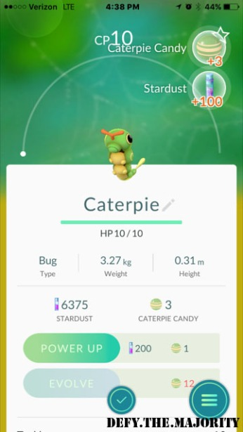 caterpiepokedex