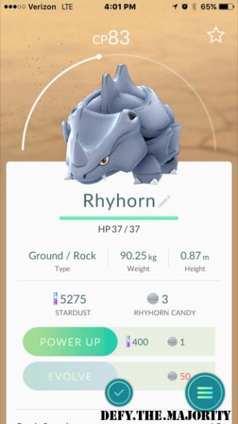rhyhornpokedex