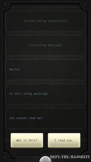 receivingmessage