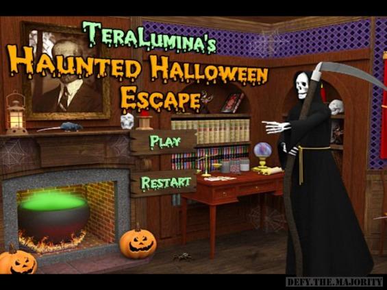 hauntedhalloweenescapetitlescreen